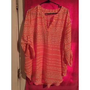 Pink pattern top